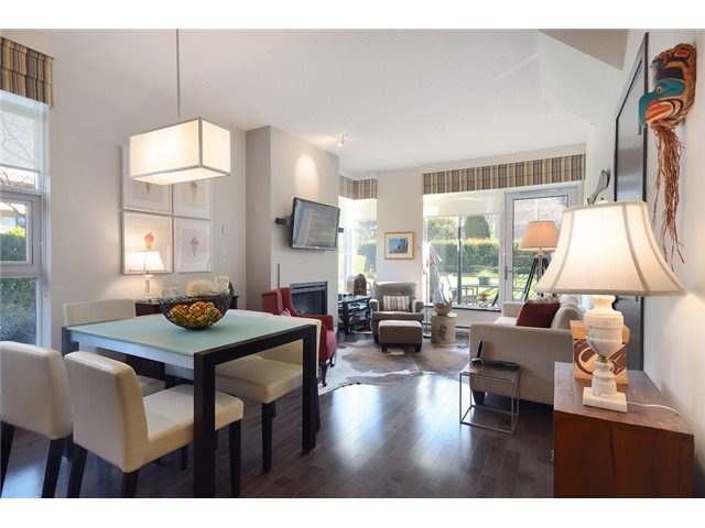 """Photo 4: Photos: 104 1088 W 14TH Avenue in Vancouver: Fairview VW Townhouse for sale in """"COCO"""" (Vancouver West)  : MLS®# V1054113"""