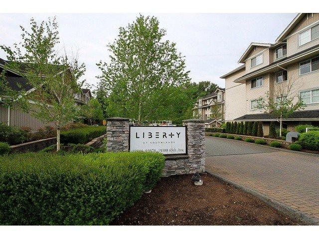 "Main Photo: 101 19388 65 Avenue in Surrey: Clayton Condo for sale in ""Liberty"" (Cloverdale)  : MLS®# F1411117"