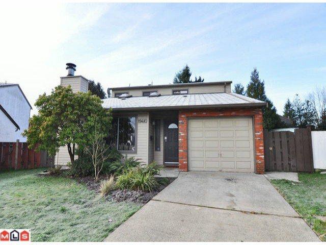 Main Photo: 19410 61 AV in : Cloverdale BC House for sale : MLS®# F1200498