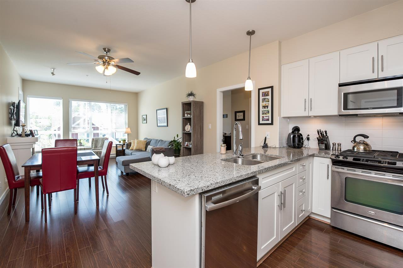 """Main Photo: 312 23215 BILLY BROWN Road in Langley: Fort Langley Condo for sale in """"WATERFRONT AT BEDFORD LANDING"""" : MLS®# R2113953"""