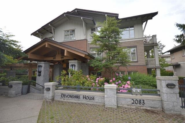 "Main Photo: 211 2083 W 33RD Avenue in Vancouver: Quilchena Condo for sale in ""DEVONSHIRE HOUSE"" (Vancouver West)  : MLS®# R2115581"
