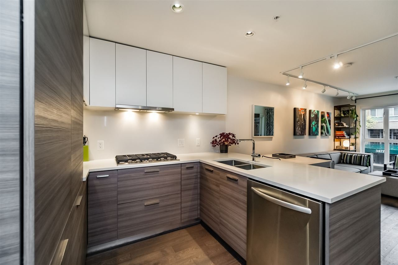 "Main Photo: 217 3456 COMMERCIAL Street in Vancouver: Victoria VE Condo for sale in ""MERCER BY CRESSEY"" (Vancouver East)  : MLS®# R2117475"