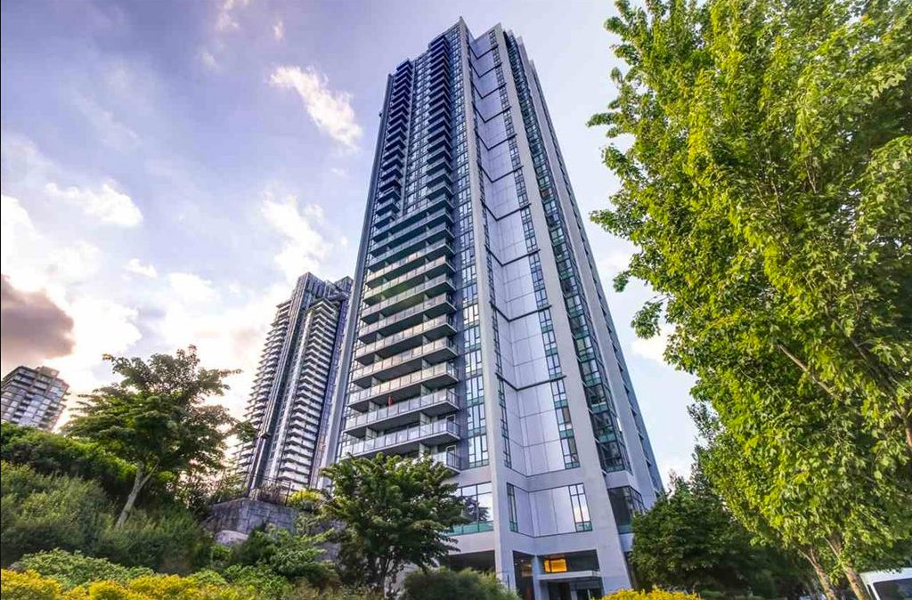 "Main Photo: 3502 1178 HEFFLEY Crescent in Coquitlam: North Coquitlam Condo for sale in ""Obelisk"" : MLS®# R2195278"