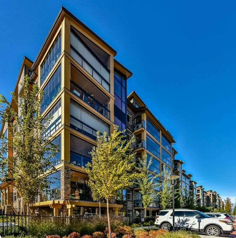 "Main Photo: 414 8067 207 Street in Langley: Willoughby Heights Condo for sale in ""Yorkson Creek Parkside One"" : MLS®# R2214873"