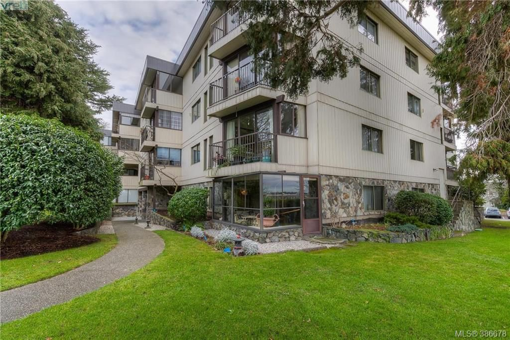 Main Photo: 104 1875 Lansdowne Road in VICTORIA: SE Camosun Condo Apartment for sale (Saanich East)  : MLS®# 386678