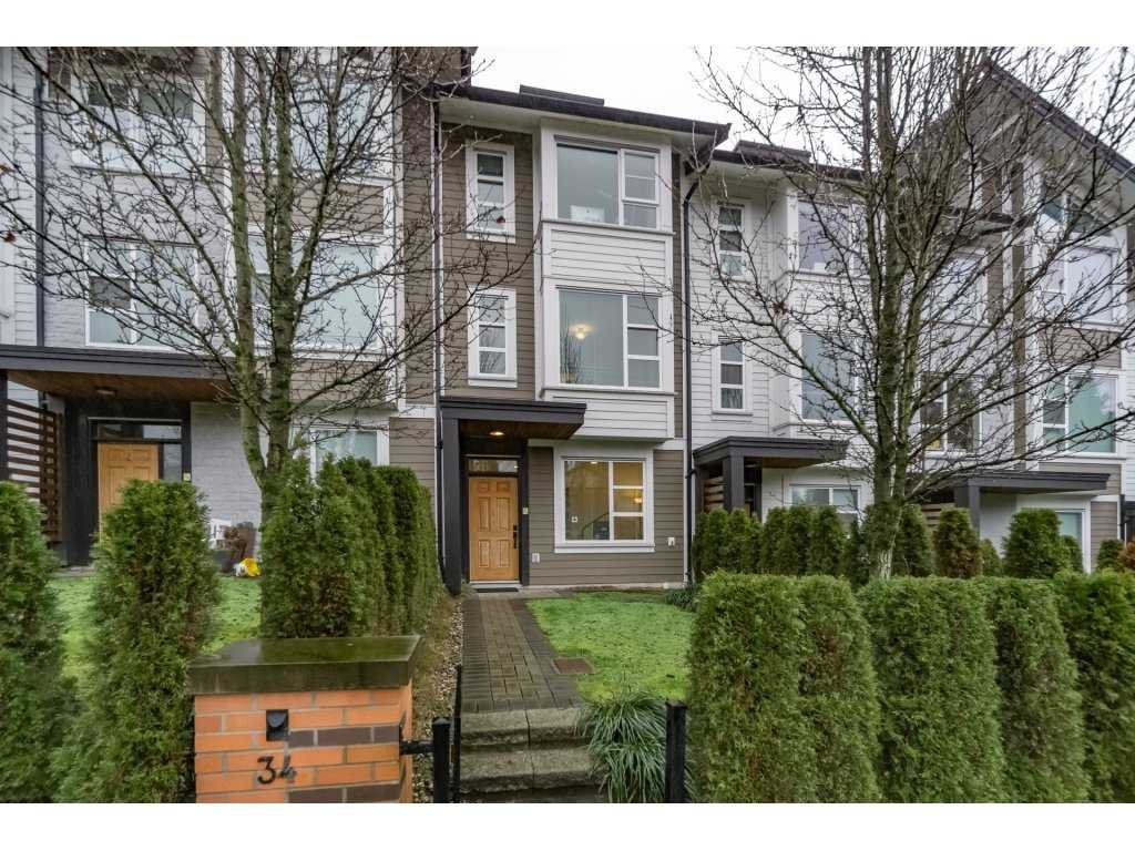 """Main Photo: 34 1299 COAST MERIDIAN Road in Coquitlam: Burke Mountain Townhouse for sale in """"BREEZE RESIDENCES"""" : MLS®# R2234626"""