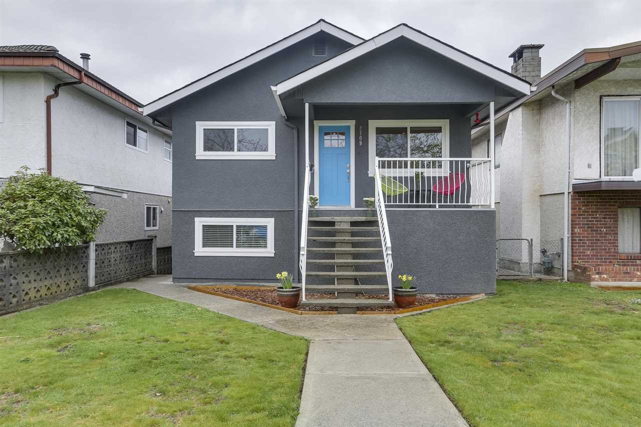 Main Photo: 2709 WILLIAM Street in Vancouver: Renfrew VE House for sale (Vancouver East)  : MLS®# R2256315