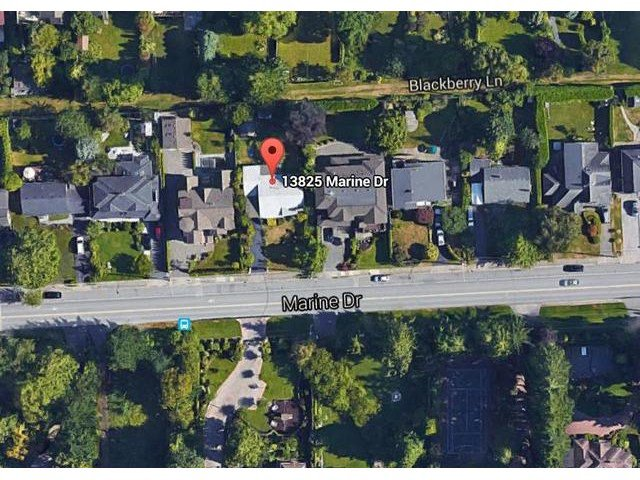 Main Photo: 13825 MARINE Drive: White Rock House for sale (South Surrey White Rock)  : MLS®# F1448525