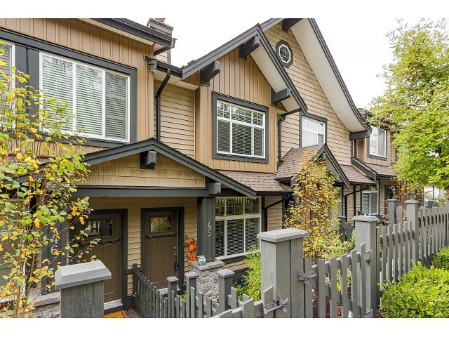 "Main Photo: 45 13819 232 Street in Maple Ridge: Silver Valley Townhouse for sale in ""BRIGHTON"" : MLS®# R2007161"