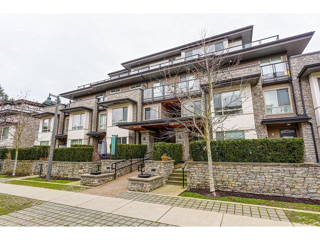 "Main Photo: 110 7428 BYRNEPARK Walk in Burnaby: South Slope Condo for sale in ""GREEN"" (Burnaby South)  : MLS®# R2029422"