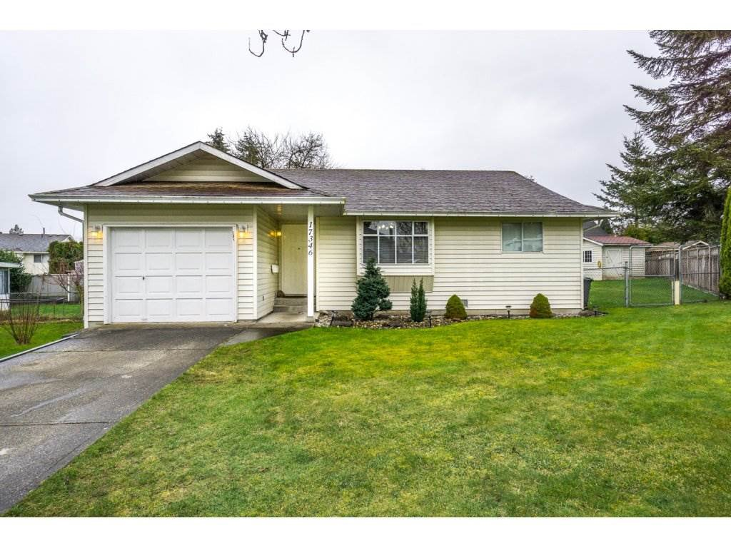 "Main Photo: 17346 60A Avenue in Surrey: Cloverdale BC House for sale in ""WEST CLOVERDALE"" (Cloverdale)  : MLS®# R2148162"