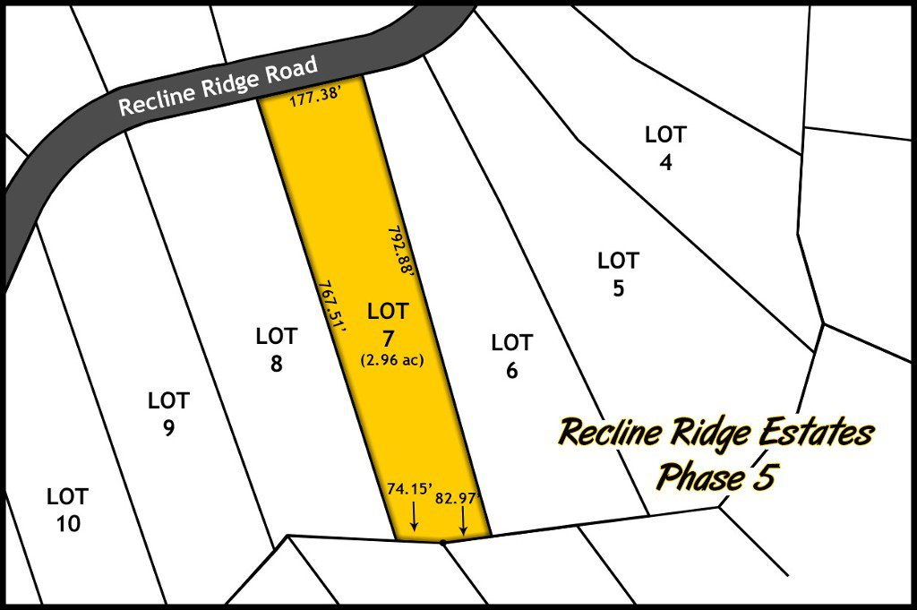 Recline Ridge Estates - Phase V - Lot 7