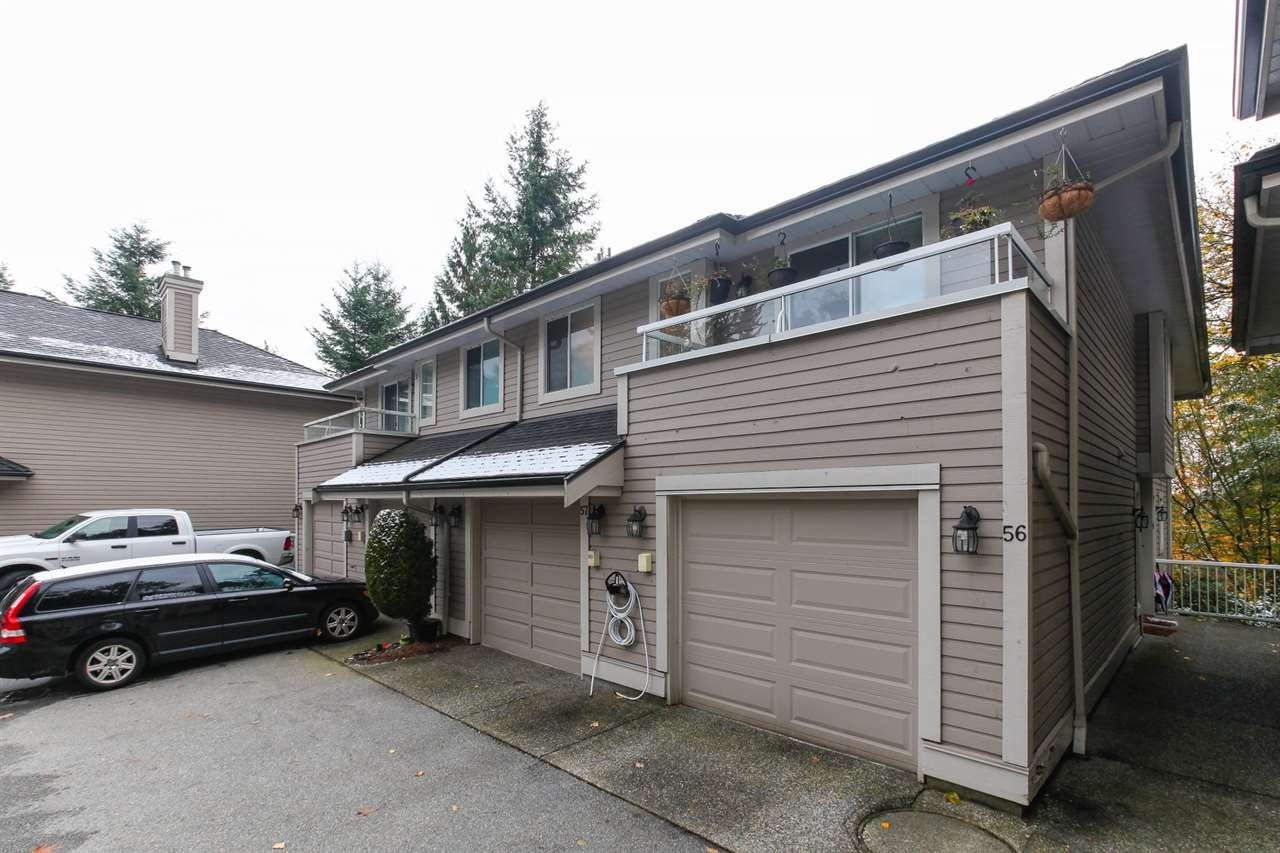 "Main Photo: 56 181 RAVINE Drive in Port Moody: Heritage Mountain Townhouse for sale in ""VIEW POINT"" : MLS®# R2219912"