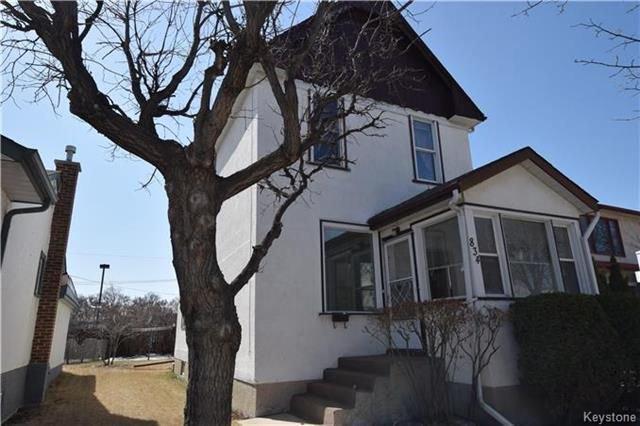 Main Photo: 834 Winnipeg Avenue in Winnipeg: Weston Residential for sale (5D)  : MLS®# 1809433