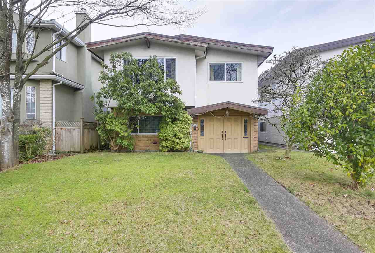 "Main Photo: 1545 W 63RD Avenue in Vancouver: South Granville House for sale in ""SOUTH GRANVILLE"" (Vancouver West)  : MLS®# R2336321"