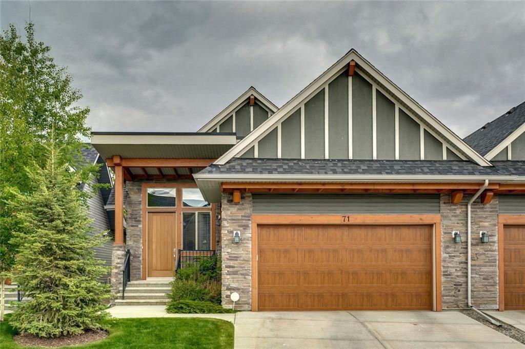 Main Photo: 71 CORTINA Villa SW in Calgary: Springbank Hill Semi Detached for sale : MLS®# C4253496