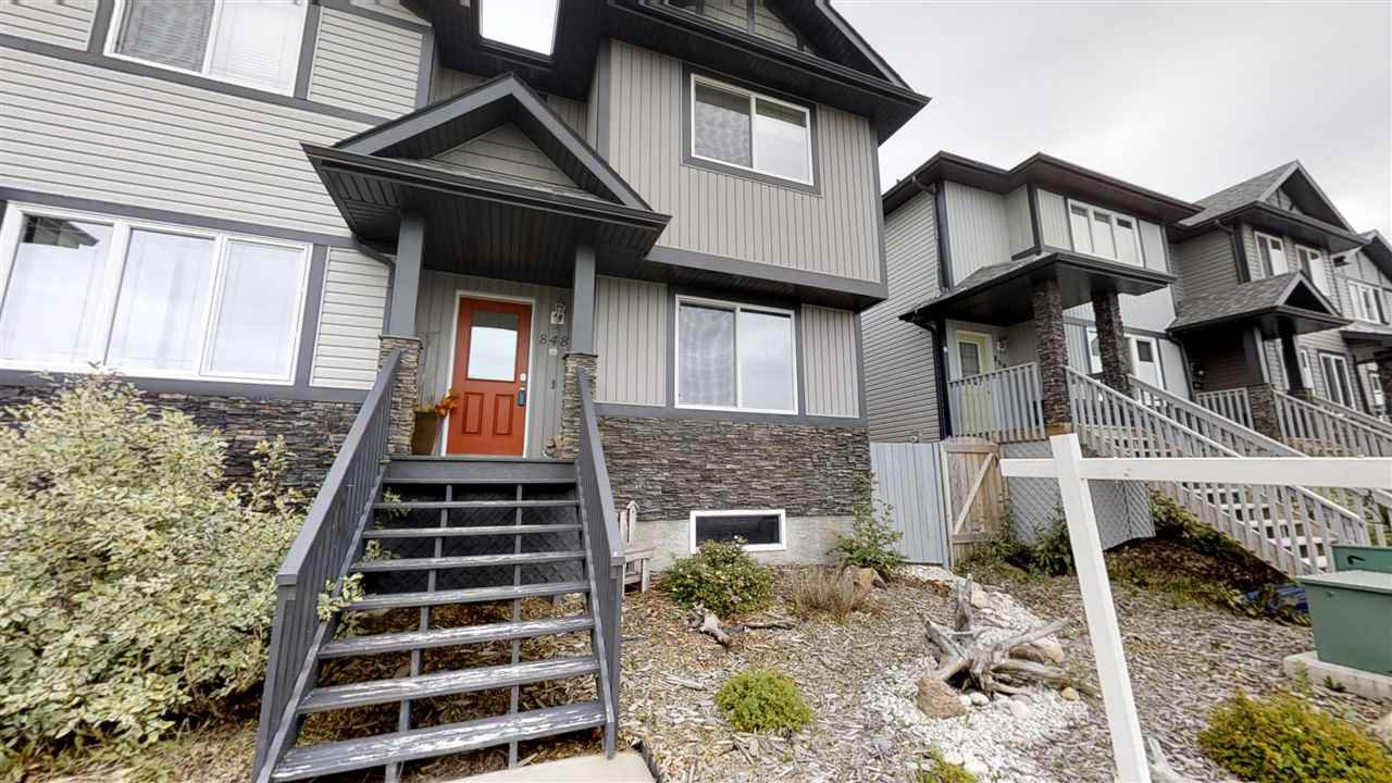 Main Photo: 848 MCLEOD Avenue: Spruce Grove Attached Home for sale : MLS®# E4162150