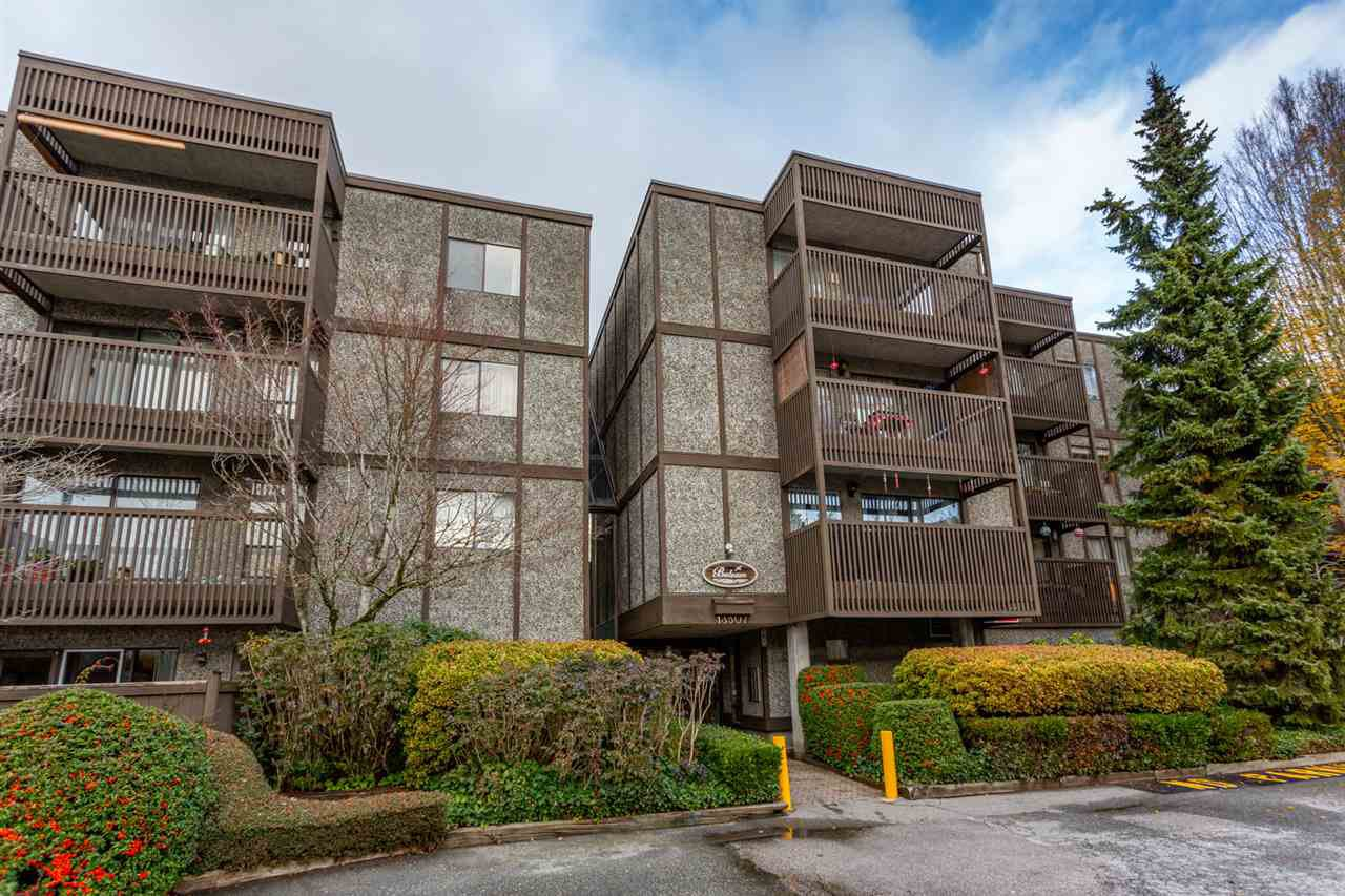 "Main Photo: 108 13507 96 Avenue in Surrey: Whalley Condo for sale in ""PARKWOODS - BALSAM"" (North Surrey)  : MLS®# R2520109"
