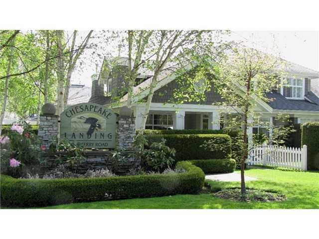 """Main Photo: 92 5900 FERRY Road in Ladner: Neilsen Grove Townhouse for sale in """"CHESAPEAKE LANDING"""" : MLS®# V893001"""