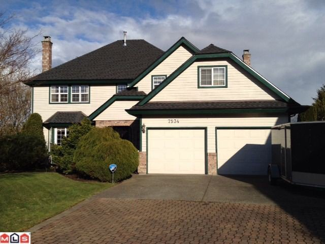 """Main Photo: 7534 150A ST in Surrey: East Newton House for sale in """"CHIMNEY HILLS"""" : MLS®# F1206839"""