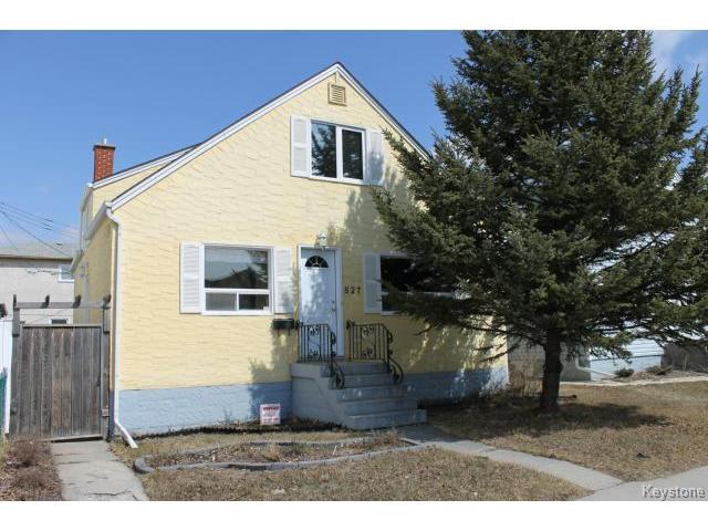 Main Photo: 827 St Matthews Avenue in WINNIPEG: West End / Wolseley Residential for sale (West Winnipeg)  : MLS®# 1407495