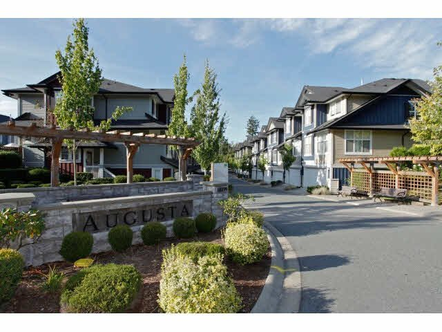 "Main Photo: 111 18199 70TH Avenue in Surrey: Cloverdale BC Townhouse for sale in ""AUGUSTA"" (Cloverdale)  : MLS®# F1425143"
