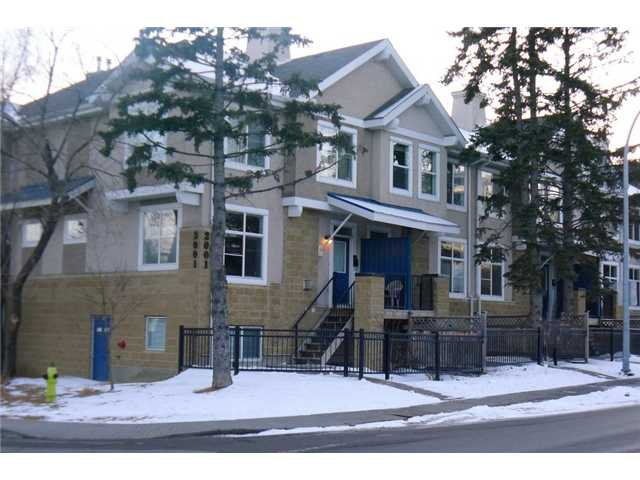 Main Photo: 10 2001 34 Avenue SW in Calgary: Altadore_River Park Townhouse for sale : MLS®# C3545737