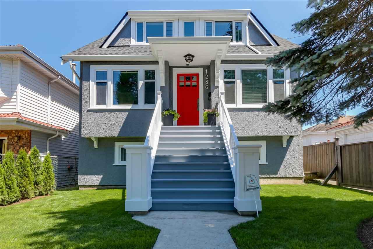 Main Photo: 1286 RENFREW Street in Vancouver: Renfrew VE House for sale (Vancouver East)  : MLS®# R2086745