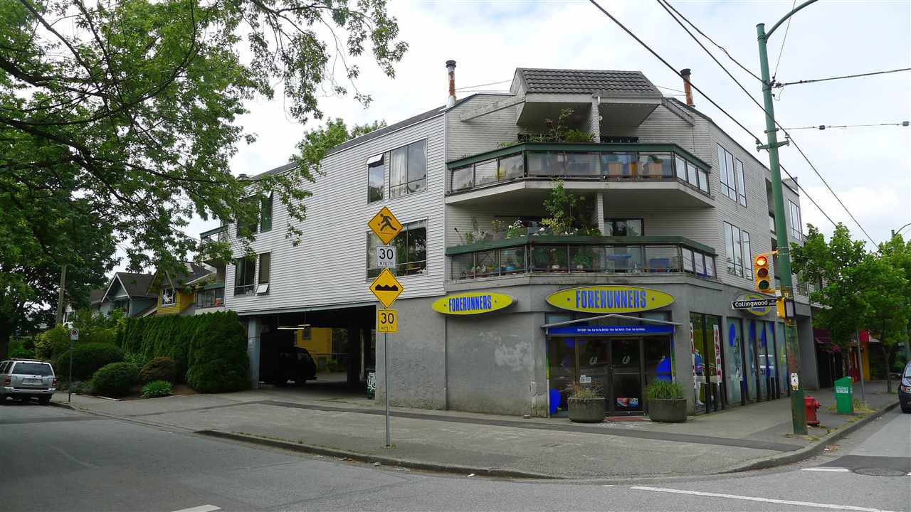Main Photo: 306 3506 W 4TH Avenue in Vancouver: Kitsilano Condo for sale (Vancouver West)  : MLS®# R2128854