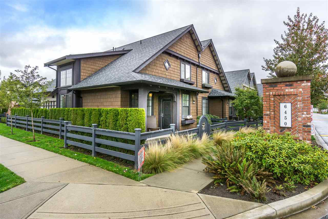 Main Photo: 71 6450 187TH Street in Surrey: Cloverdale BC Townhouse for sale (Cloverdale)  : MLS®# R2129175