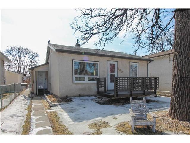 Main Photo: 160 IMPERIAL Avenue in Winnipeg: St Vital Residential for sale (2D)  : MLS®# 1706437
