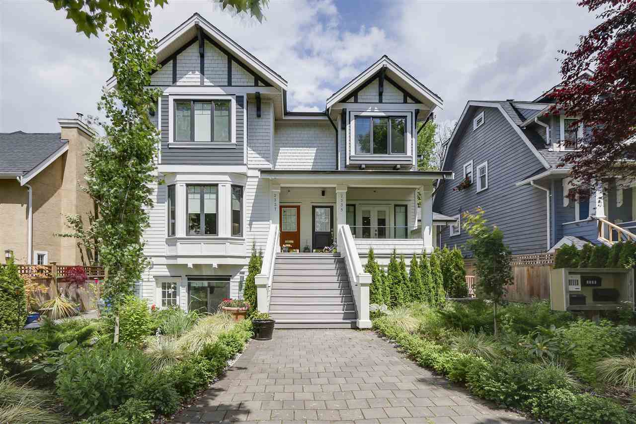 Main Photo: 2339 W 10TH AVENUE in Vancouver: Kitsilano Townhouse for sale (Vancouver West)  : MLS®# R2176866