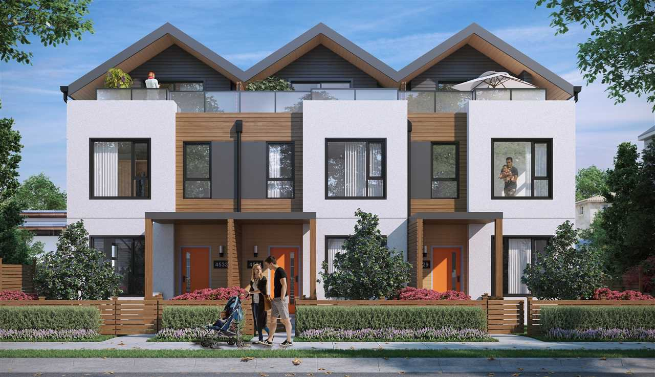 """Main Photo: 4523 EARLES Street in Vancouver: Collingwood VE Townhouse for sale in """"EARL"""" (Vancouver East)  : MLS®# R2252361"""