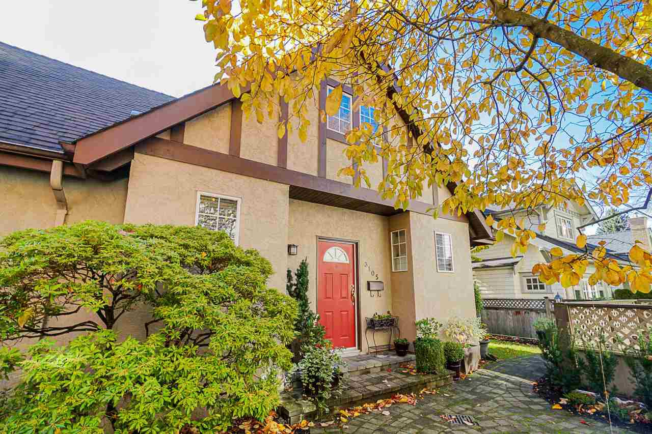 Main Photo: 3105 ALBERTA Street in Vancouver: Mount Pleasant VW Townhouse for sale (Vancouver West)  : MLS®# R2416181
