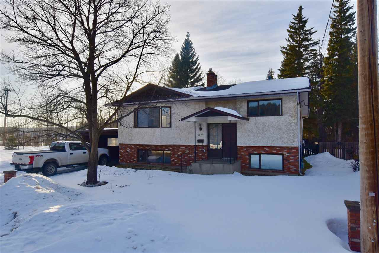 Main Photo: 2759 MOYIE Street in Prince George: South Fort George House for sale (PG City Central (Zone 72))  : MLS®# R2437467