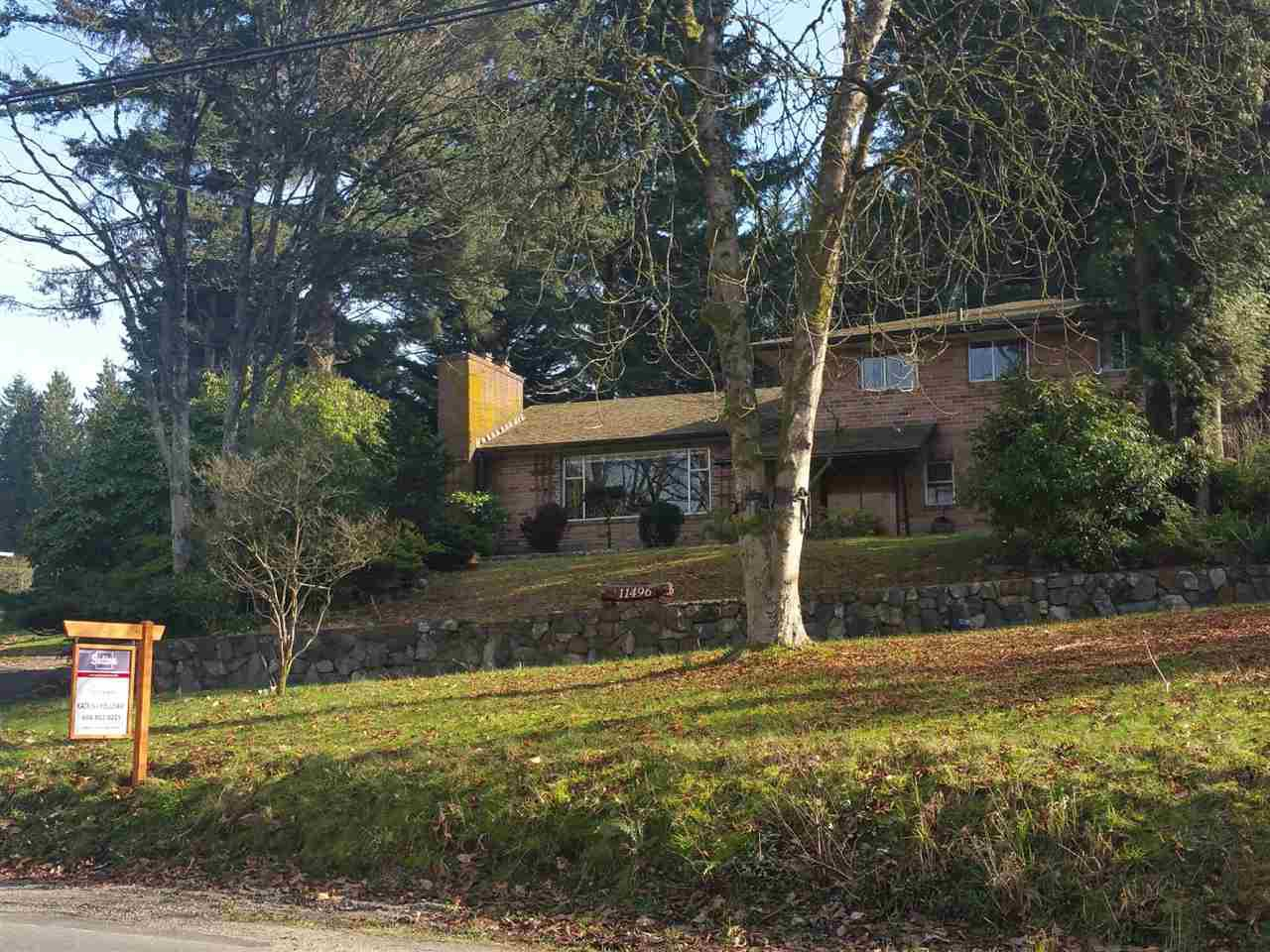Main Photo: 11496 RIVER ROAD in : Royal Heights House for sale : MLS®# R2040767