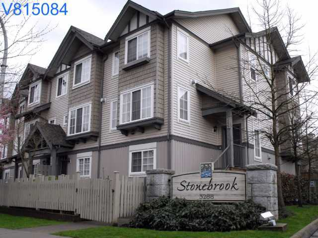 Main Photo: 133 3288 Noel Drive in Burnaby: Townhouse for sale (Burnaby North)  : MLS®# V815084