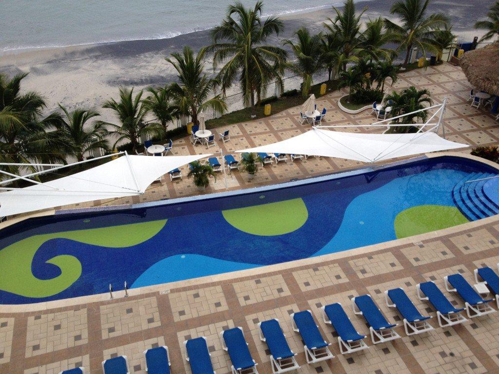 Coronado Bay beachfront and one of 3 pools