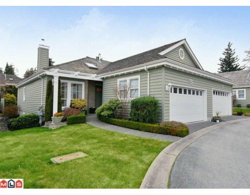 Main Photo: # 14 1711 140TH ST in Surrey: Sunnyside Park Surrey House for sale (South Surrey White Rock)  : MLS®# F1316774