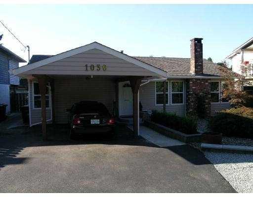 Main Photo: 1030 PRAIRIE AV in Port Coquitlam: Birchland Manor House for sale : MLS®# V610224