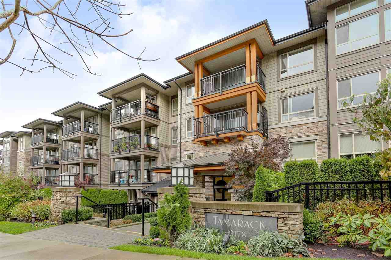 "Main Photo: 112 3178 DAYANEE SPRINGS Boulevard in Coquitlam: Westwood Plateau Condo for sale in ""TAMARACK - DAYANEE SPRINGS"" : MLS®# R2119364"