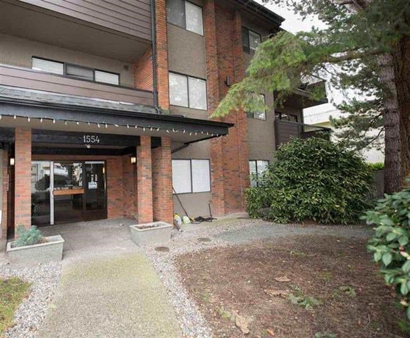 """Main Photo: 103 1554 GEORGE Street: White Rock Condo for sale in """"THE GEORGIAN"""" (South Surrey White Rock)  : MLS®# R2147774"""