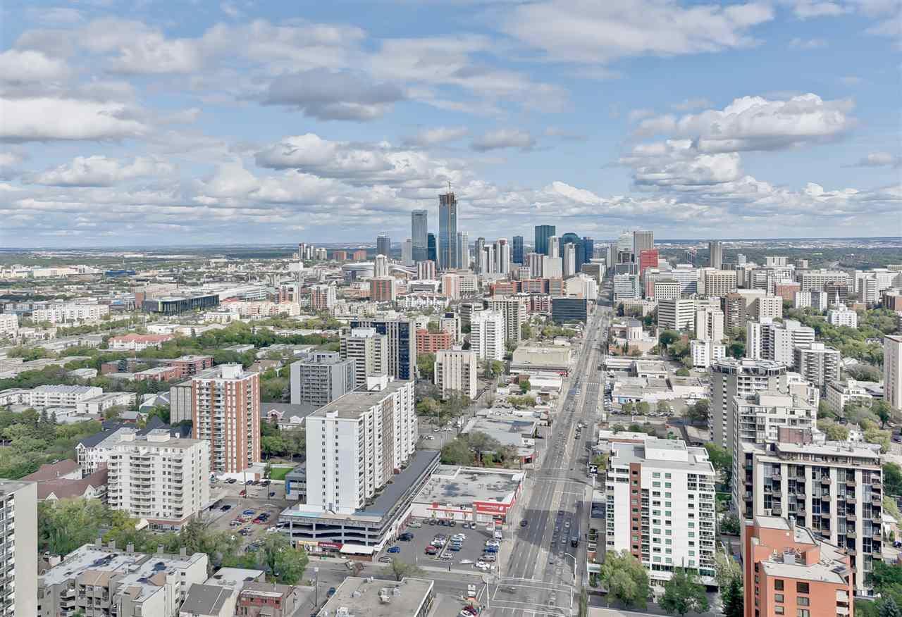 Photo 2: Photos: 3401 11969 JASPER Avenue in Edmonton: Zone 12 Condo for sale : MLS®# E4127514
