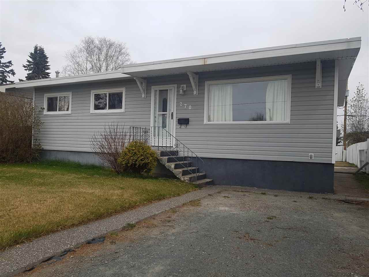 Main Photo: 270 S NICHOLSON Street in Prince George: Quinson House for sale (PG City West (Zone 71))  : MLS®# R2367893
