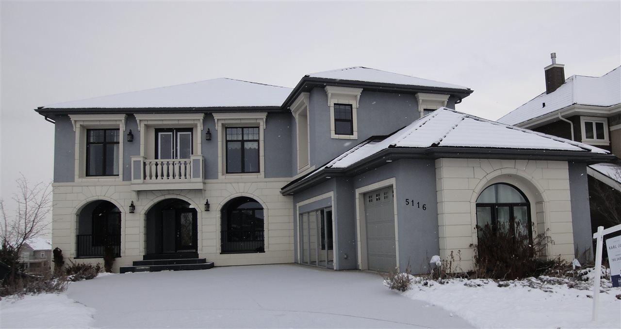 Main Photo: 5116 WOOLSEY Link in Edmonton: Zone 56 House for sale : MLS®# E4181887