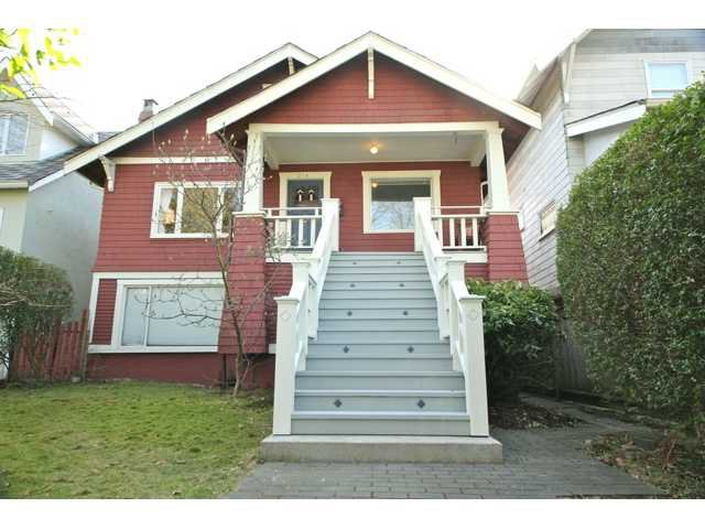 Main Photo: 276 W 18TH Avenue in Vancouver: Cambie House for sale (Vancouver West)  : MLS®# V934161