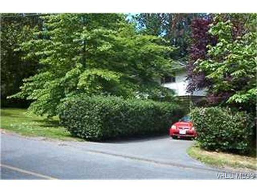 Main Photo: NORTH SAANICH REAL ESTATE = DEEP COVE HOME For Sale SOLD With Ann Watley