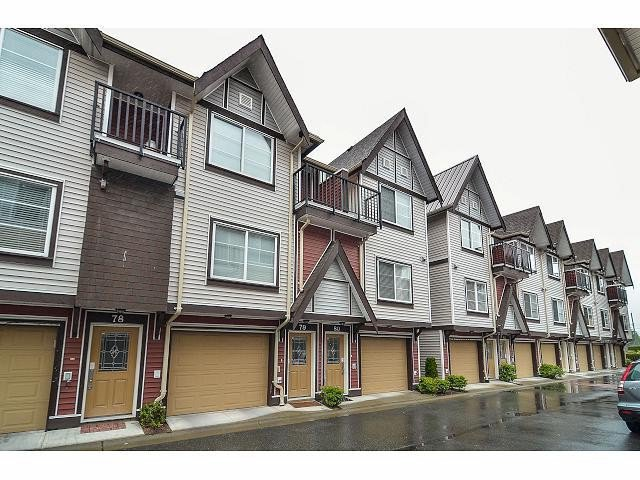 "Main Photo: 80 9405 121ST Street in Surrey: Queen Mary Park Surrey Townhouse for sale in ""REDLEAF CRESCENT"" : MLS®# F1415077"