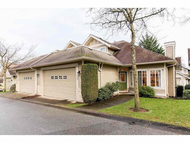 "Main Photo: 28 16920 80 Avenue in Surrey: Fleetwood Tynehead Townhouse for sale in ""Stone Ridge"" : MLS®# F1428666"