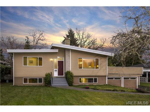 Main Photo: 3545 Cardiff Pl in VICTORIA: OB Henderson House for sale (Oak Bay)  : MLS®# 721666